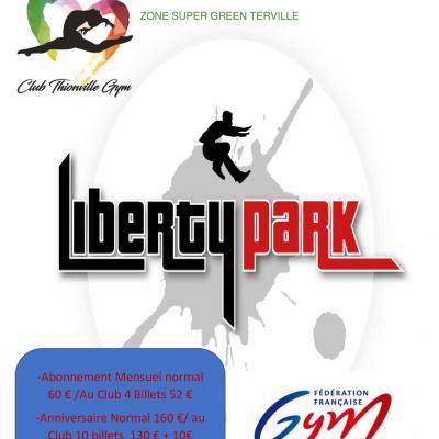 Pub liberty park affiche 2 2